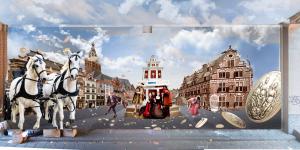 Waalpainting Vrede van Nijmegen 2